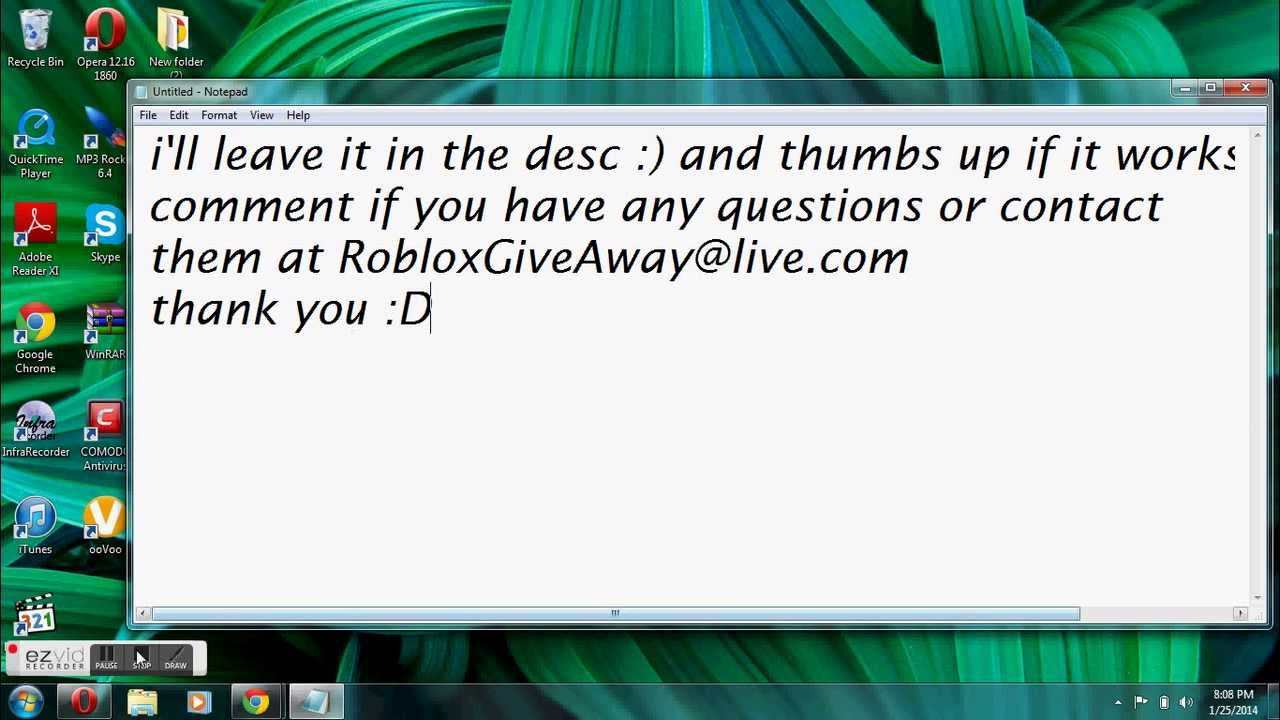 how to get free robux no survey or download