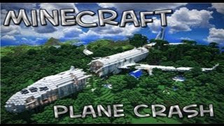 One of iBallisticSquid's most viewed videos: Minecraft Adventure Map | The Plane Crash | w/Squid & Paul | Part 1