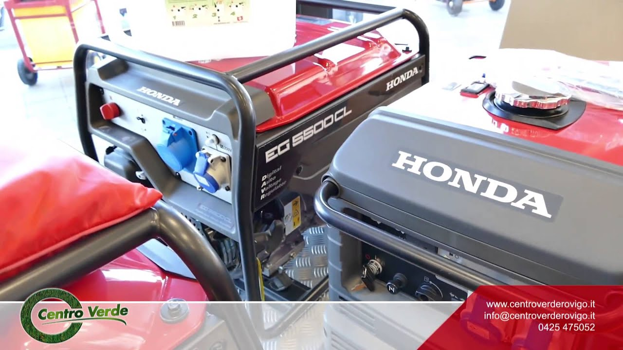 Generatore Di Corrente Portatile Honda Youtube