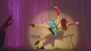 Ginger Snaps Aerial Lyra Burlesque - I'm Afraid Of Americans