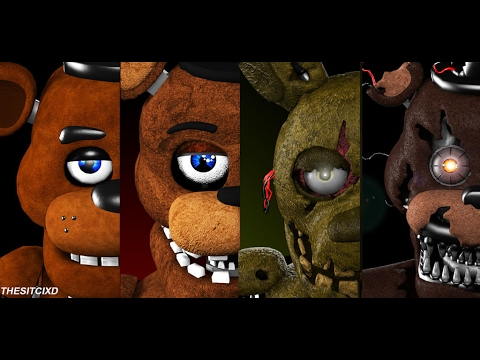 TOO SCARY 99% OF PEOPLE WILL GET SCARED WATCHING THIS FNAF ANIMATION COMPILATION ► [SFM FNAF]