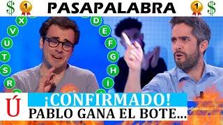 ¡Por fin! Antena 3 confirma cuándo se lleva Pablo el bote de Pasapalabra