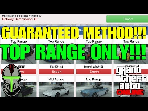 GTA Online: GUARANTEED Method To Source TOP Range Cars ONLY!!! (IMPORT/EXPORT Vehicle Cargo)