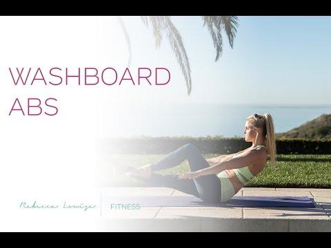 Washboard Abs | Rebecca Louise