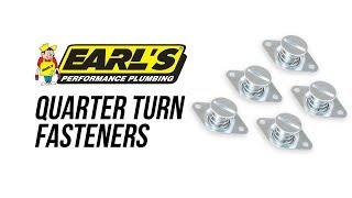Earls Quarter Turn Fasteners & Tools
