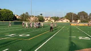 Daniel Gerlach (#23) Football Highlights - Aug. 22, 2019 (The Bishop's School vs. Francis Parker)