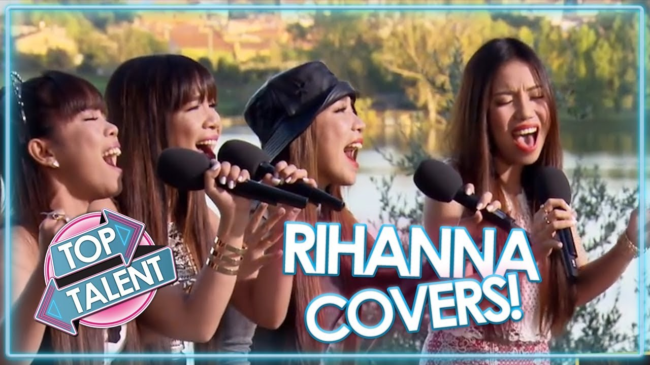 Best of Rihanna! X Factor, Got Talent and Idols - Part One | Top Talent