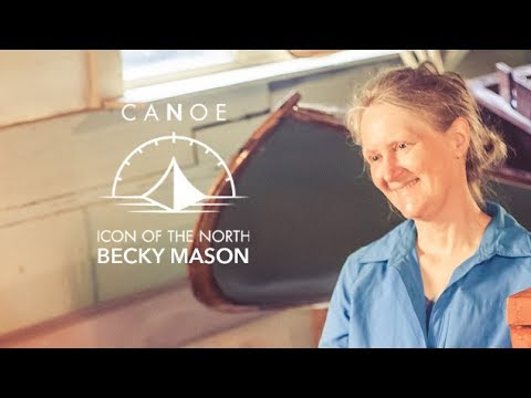 Becky Mason - Classic Canoeing Instructor and Wilderness Artist