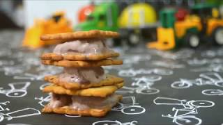Stopmotion Ice cream Sandwich