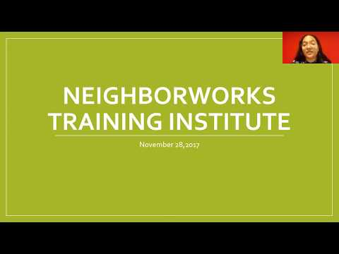 Washington, DC NeighborWorks Training Institute VISTA Webinar 2017