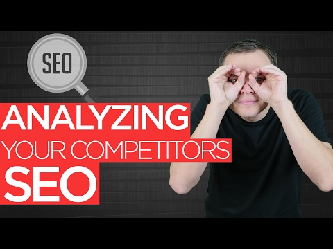 Analyzing Your Competitors SEO: SEO for Beginners Tutorial