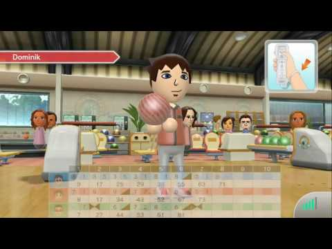 Wii U, Wii Sports Club, Online Bowling Gameplay