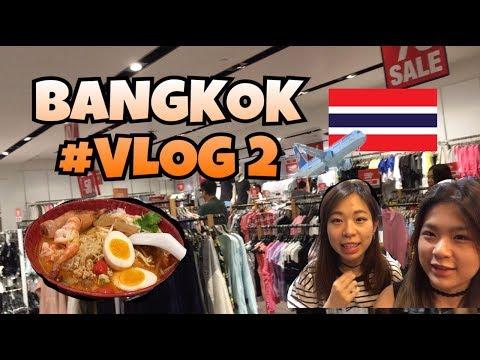 THAILAND - BANGKOK #VLOG 2 - Shopping Spree at Platinum Mall & Night Markets