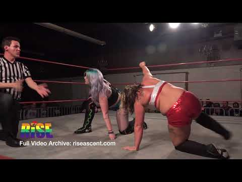 Tess Valentine Vs. Angie Skye Women's Wrestling From RISE 1 - IGNITE