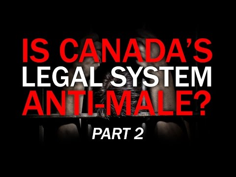 """Q&A session """"Is Canada's Legal System Anti-Male?"""""""