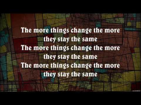 Bon Jovi - The More Things Change (Lyrics)