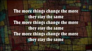 Bon Jovi - The More Things Change (Lyrics)
