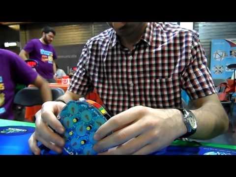 Media de 11,85 con el Rubik's Clock + 9,31 Sencillo [Nacional 2015]