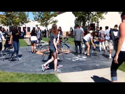 Musical Chairs with a twist 9/6/13