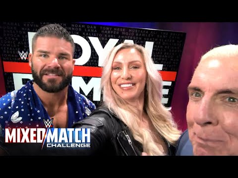"Charlotte & Ric Flair teach Bobby Roode how to ""Woo!"" for WWE Mixed Match Challenge"