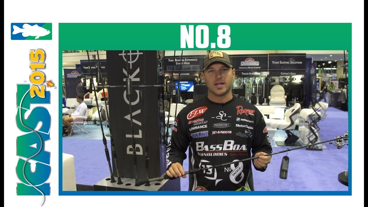 No. 8 Blackout Series Rods with Brandon Hunter | ICAST 2015