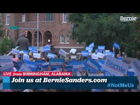 Bernie 2020 Rally in Birmingham, Alabama