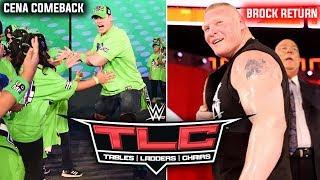 Brock Lesnar & John Cena RETURNS At TLC 2018 ! Make Things Better ! WWETLC 2018 Highlights Results !