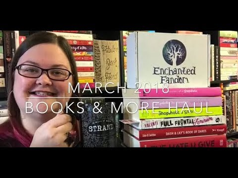 March 2018 Books & More Haul