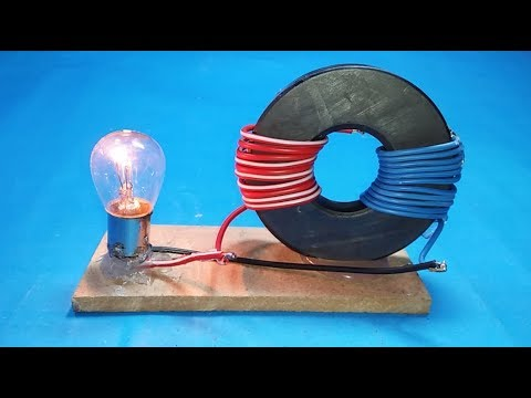Make Free Energy Generator Magnet Coil 100% Real New Technology New Idea Project