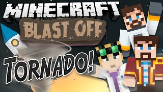 Minecraft Mods - Blast Off! #6 TORNADO!