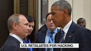 Obama Retaliates Against Russian Hacking With Sanctions