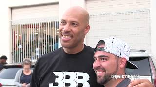 LaVar Ball Shows No Remorse to Big Ballers Loss & Takes Photos + On Foot Zo2 Lonzo Ball Shoes