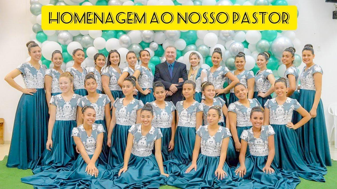 Homenagem ao nosso querido Pastor (Coreografia Trajetória de um Fiel - Eliã Oliveira)