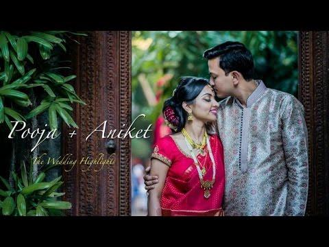 The Wedding Highlights {Aniket+Pooja} : Shot @ Tamarind Tree, Bangalore
