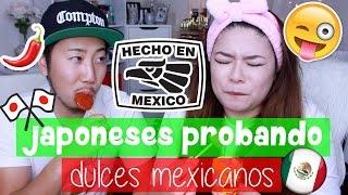 🇯🇵JAPONESES PROBANDO DULCES MEXICANOS ll COLAB ll iEstefy 🇯🇵JAPON