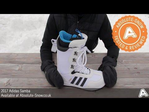 compensar prototipo alabanza  2016 / 2017 | Adidas Samba Snowboard Boots | Video Review - YouTube