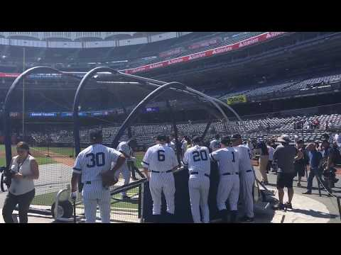 Yankees' Aaron Boone, Jason Giambi hit BP HRs