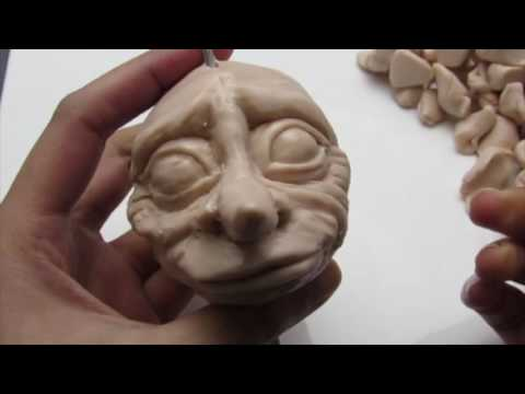 DOBBY Poseable Clay Doll Timelapse / Tutorial Part 1