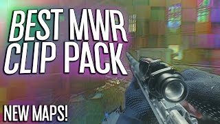 MWR Clips to Edit on New Maps!! (Modern Warfare Remastered Trickshots and Feeds) (Clip Pack #7)