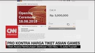 Download Video Pro-Kontra Harga Tiket Asian Games 2018 MP3 3GP MP4