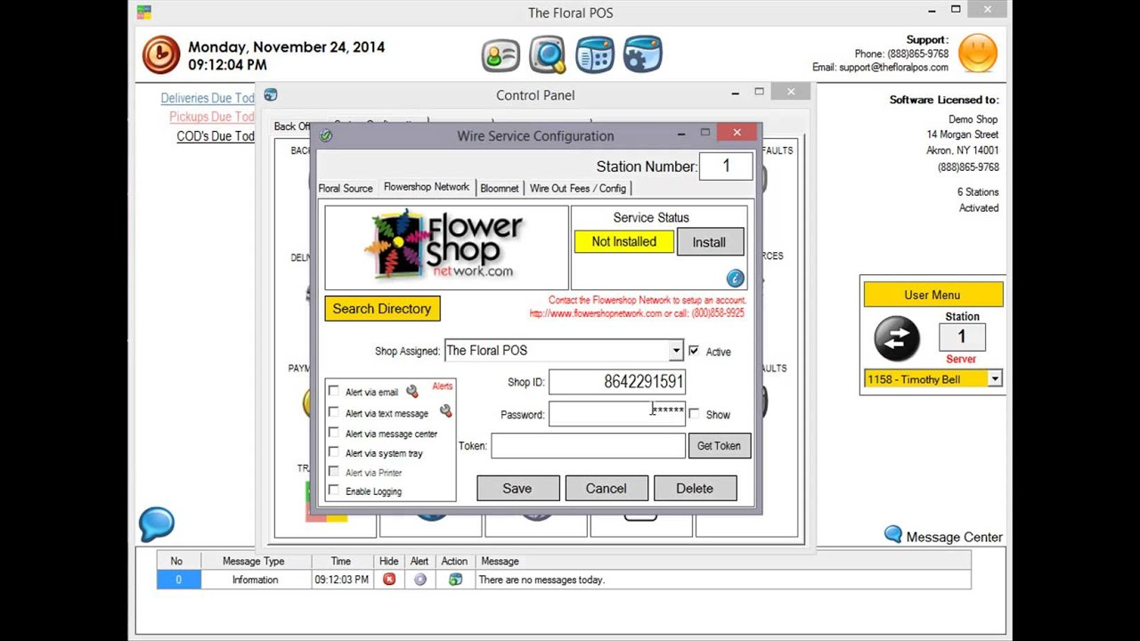 How To Setup Flower Shop Network Fsn