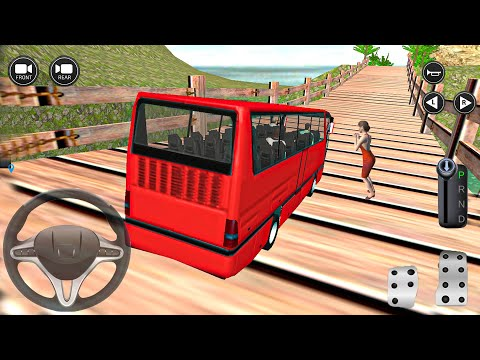 3D Real bus simulator games for android offline – Uphill Mountain Driving – Android Gameplay