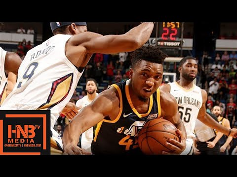 Utah Jazz vs New Orleans Pelicans Full Game Highlights / March 11 / 2017-18 NBA Season