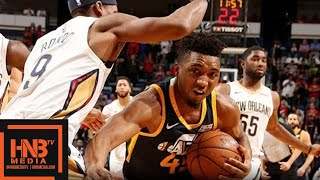 Utah Jazz vs New Orleans Pelicans Full Game Highlights / March 11 / 2017-18 NBA Season