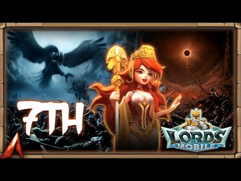 Lords Mobile - Unlocking The 7th Hero Army!