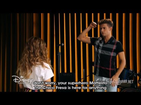 Soy Luna - Season 3 Episode 10 - Matteo and Luna wish each other good luck for the Open (English)