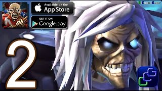 Iron Maiden Legacy of the Beast iOS Walkthrough - Part 2 - Ailing Kingdom