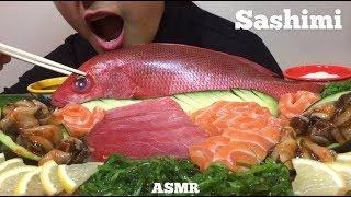 ASMR SASHIMI | Eating Sounds | HOPE ASMR