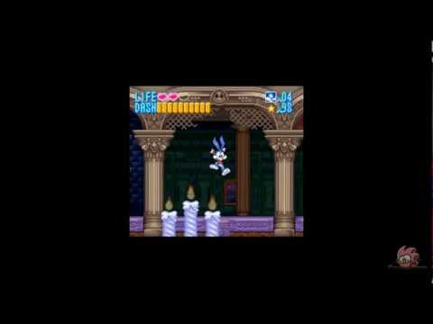 Tiny Toon Adventures: Buster Busts Loose! Blind Run Pt. 3 - Running Away from Ghost!
