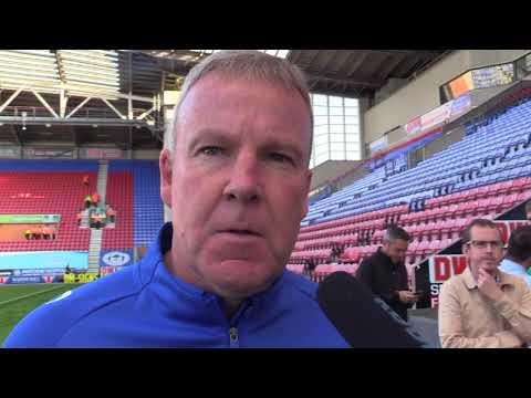 Kenny Jackett post-Wigan Athletic
